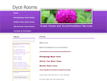 Tablet Preview of dycerooms.co.uk